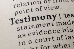 Tips for Testifying at Your Bankruptcy Hearing